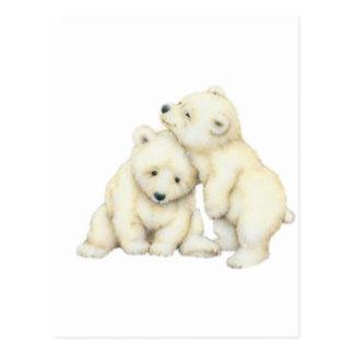 Eisbär CUB Postkarte