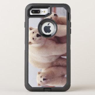 Eisbär-Familie OtterBox Defender iPhone 8 Plus/7 Plus Hülle
