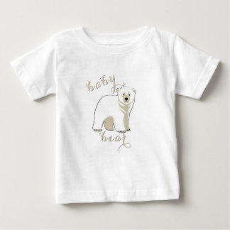 Eisbär-Familien-Baby-Bär 2 Baby T-shirt