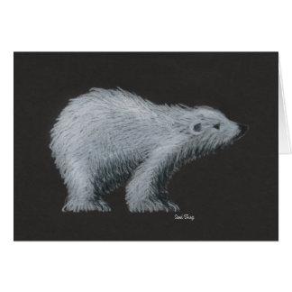 Eisbär-Geburtstags-Karte