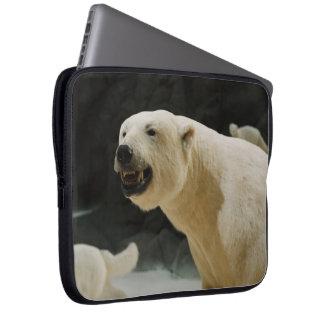 Eisbär-Grinsen Laptopschutzhülle