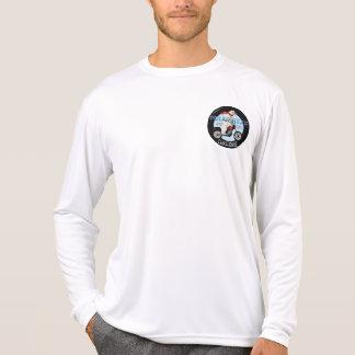 Eisbär-Herausforderungs-Motorrad T-Shirt