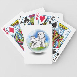 Eisbär in der Blase Bicycle Spielkarten