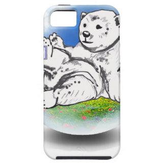 Eisbär in der Blase iPhone 5 Schutzhülle