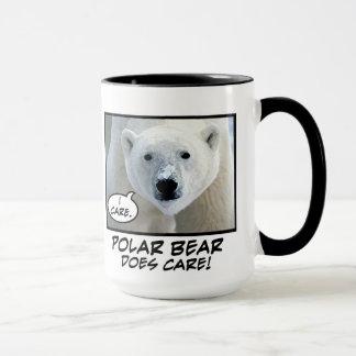 Eisbär interessiert sich! Tasse