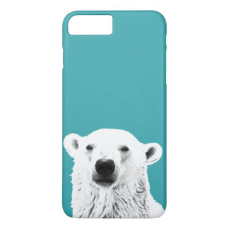 Eisbär iPhone 7 Fall iPhone 8 Plus/7 Plus Hülle
