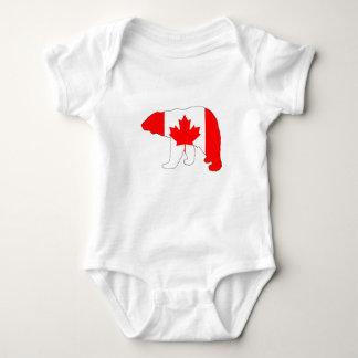 """Eisbär """"Kanada """" Baby Strampler"""