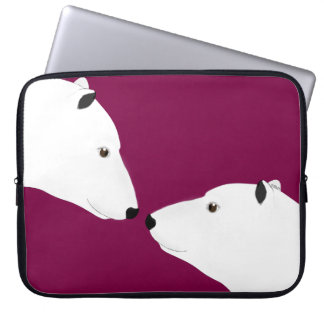 Eisbär-Laptop-Hülse Laptopschutzhülle