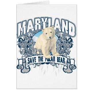 Eisbär Maryland Karte