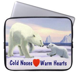 Eisbär - Mutter Nose Best Laptopschutzhülle