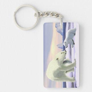Eisbär - Mutter Nose Best Schlüsselanhänger
