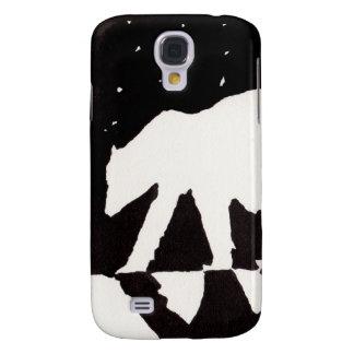 Eisbär nachts auf Nordpolarmeer Galaxy S4 Hülle