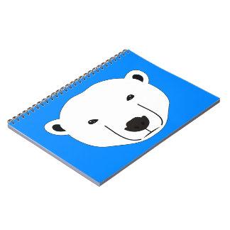 Eisbär Notizblock