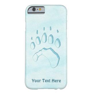 Eisbär-Tatzen-Druck Barely There iPhone 6 Hülle