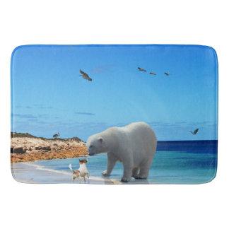 Eisbär-Treffen, Badematte