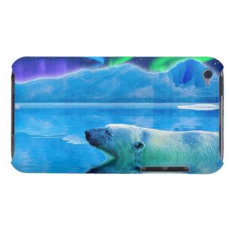 Eisbär-u. Aurora-Fantasie-Kunstipod-Kasten Barely There iPod Case