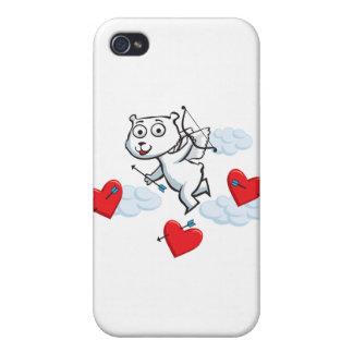 Eisbär-Valentinsgruß iPhone 4 Etuis