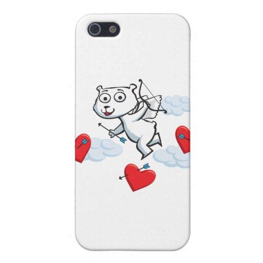 Eisbär-Valentinsgruß iPhone 5 Etuis