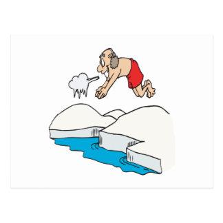 Eisbär-Verein Postkarte