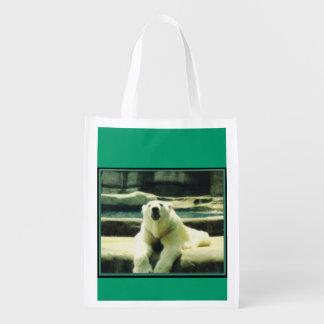 Eisbär-wiederverwendbare Einkaufstüte Einkaufsbeutel