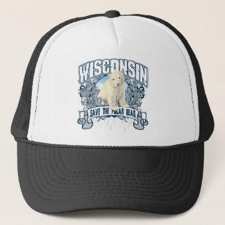 Eisbär Wisconsin Truckerkappe