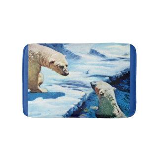 Eisbären Badematte