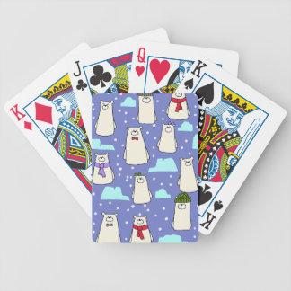 Eisbären Bicycle Spielkarten