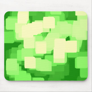"""Eisberg-"" geometrische Kunst Mousepads"