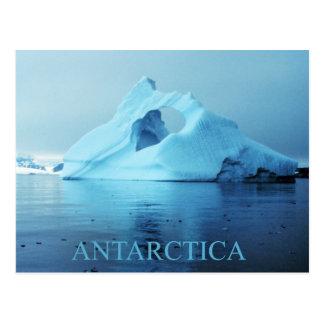 Eisberg in der Antarktis Postkarte