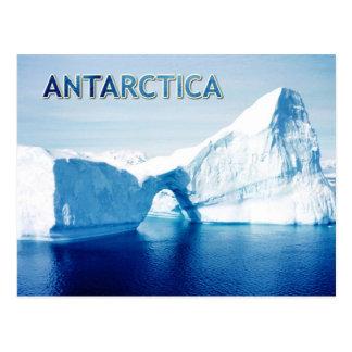 Eisberg in Gerlache Straße, die Antarktis Postkarte