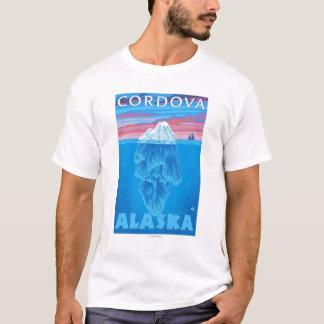 Eisberg-Querschnitt - Cordova, Alaska T-Shirt