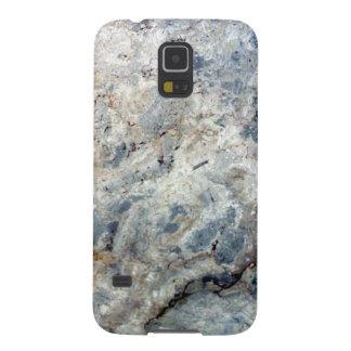 Eisblauweißes Marmorsteinende Samsung S5 Hüllen