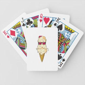 Eiscreme-Bart Bicycle Spielkarten
