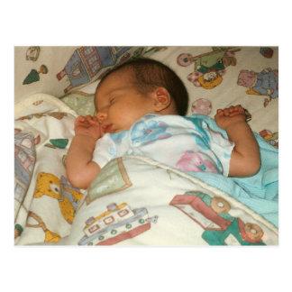 Eiscreme-Geburtsmitteilungs-Fotokarte Postkarten