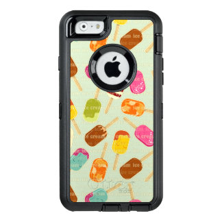 Eiscreme-Muster OtterBox iPhone 6/6s Hülle
