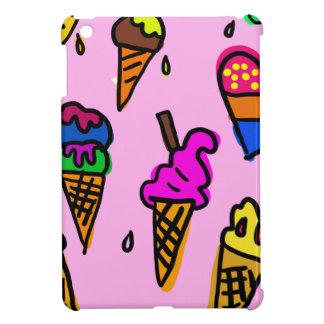 Eiscreme-Party-Duschen-Süßigkeitens-Schicksals iPad Mini Hülle