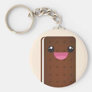 Eiscreme-Sandwich Keychain Schlüsselanhänger