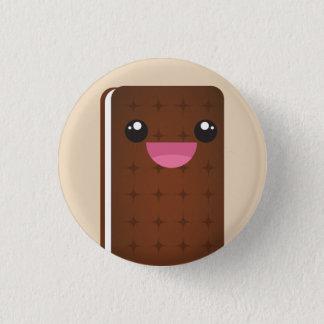 Eiscreme-Sandwich-Knopf Runder Button 3,2 Cm