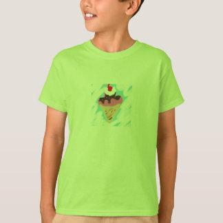 Eiscreme scherzt T-Stück T-Shirt