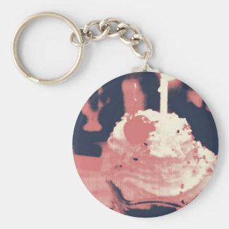 Eiscreme-Schlüsselkette Schlüsselanhänger