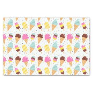 Eiscreme und Popsicle-Seidenpapier Seidenpapier