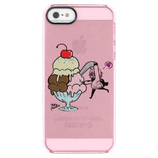 Eiscremebecher-Kasten Durchsichtige iPhone SE/5/5s Hülle