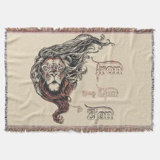 Eisen mögen einen Löwe in Zion, Reggaemusik, Decke