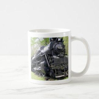 Eisen-Zug-alte Schultier Kaffeetasse