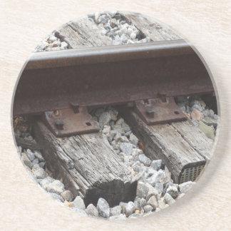 Eisenbahn-Kunst Untersetzer