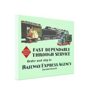 Eisenbahn-schneller zuverlässiger leinwanddruck