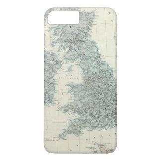Eisenbahn und Kanäle der britischen Inseln iPhone 8 Plus/7 Plus Hülle