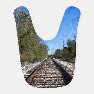 Eisenbahn-Zug spürt Foto auf Babylätzchen