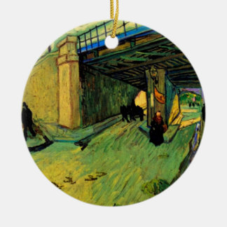 Eisenbahnbrücke Van Gogh, Allee Montmajour, Arles Keramik Ornament