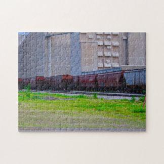 Eisenbahnwagen Puzzle